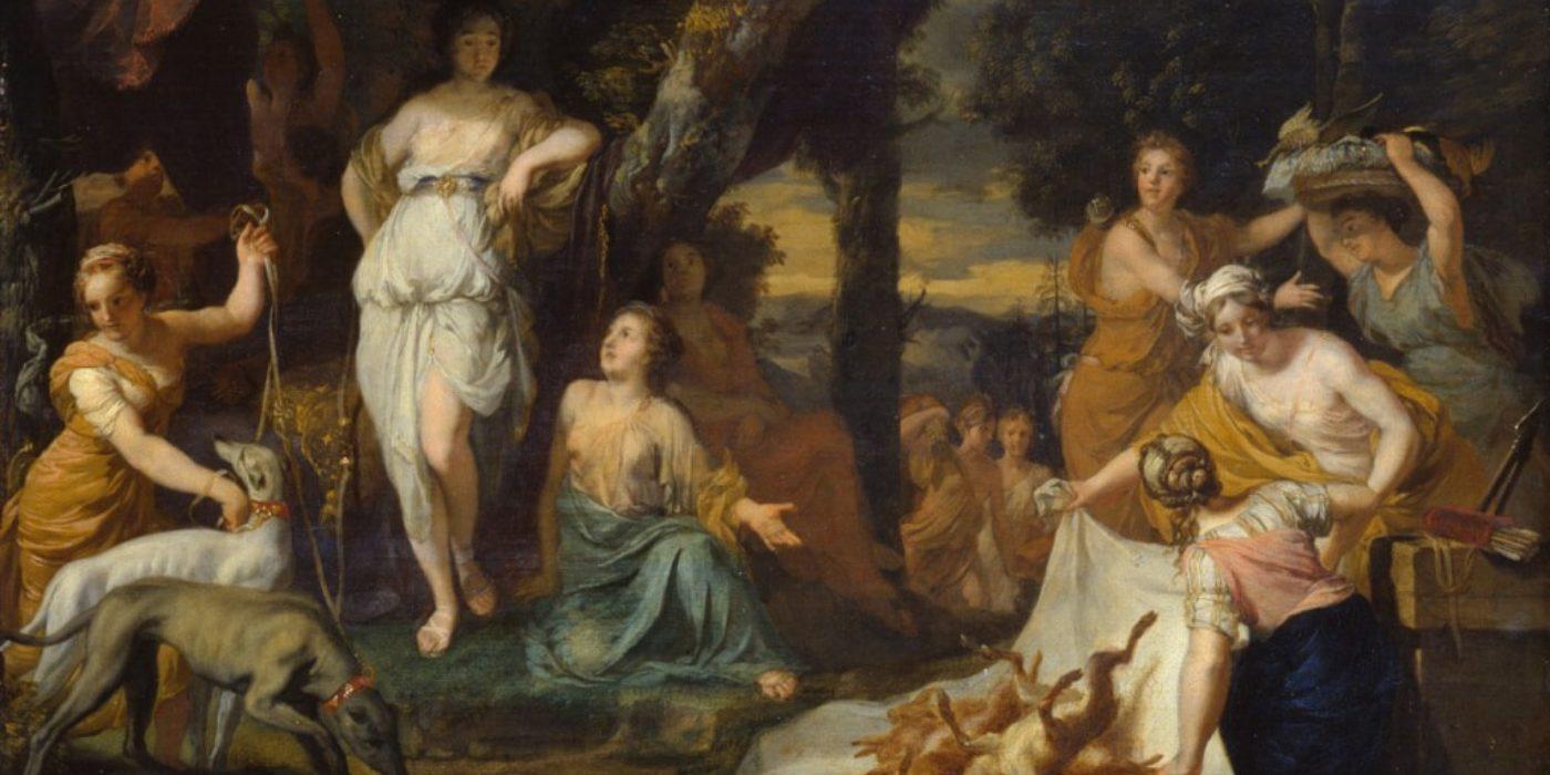 BKF-Presse-Pressebilder-Kunstmarkt-Gerard-deLairesse-Jagdbeute-von-Diana-um-1760