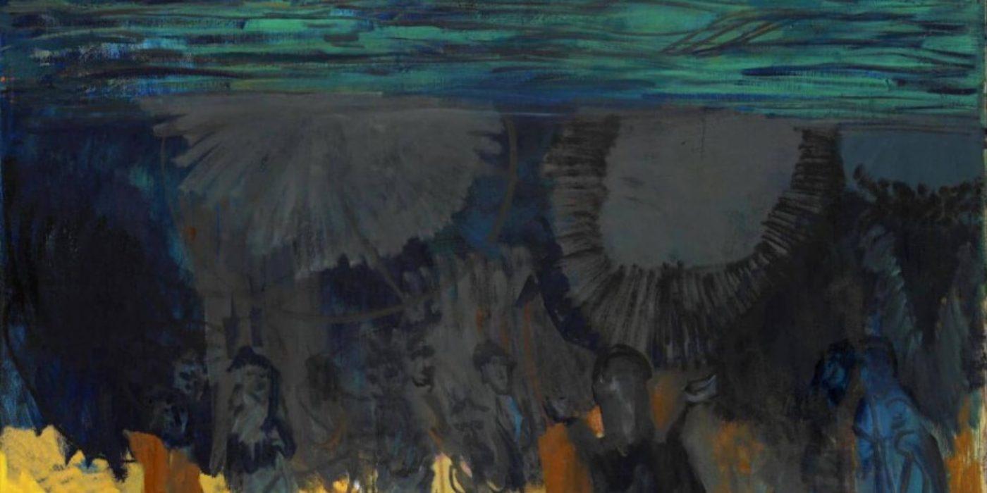 Per-Kirkeby-Laeso-2001-Oel-auf-Leinwand-Louisiana-Museum-of-Modern-Art-Stiftung-Jytte-und-Dennis-Dresing
