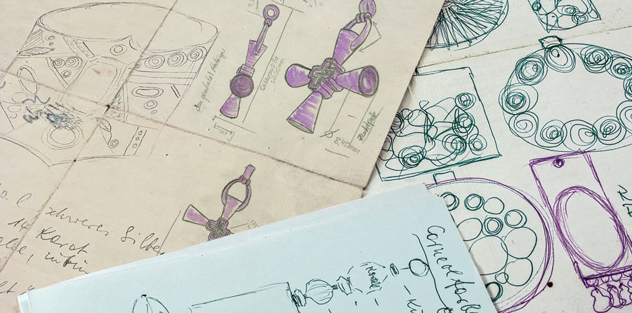 Petra Waszak Sketches - Petra Waszak Jewellery