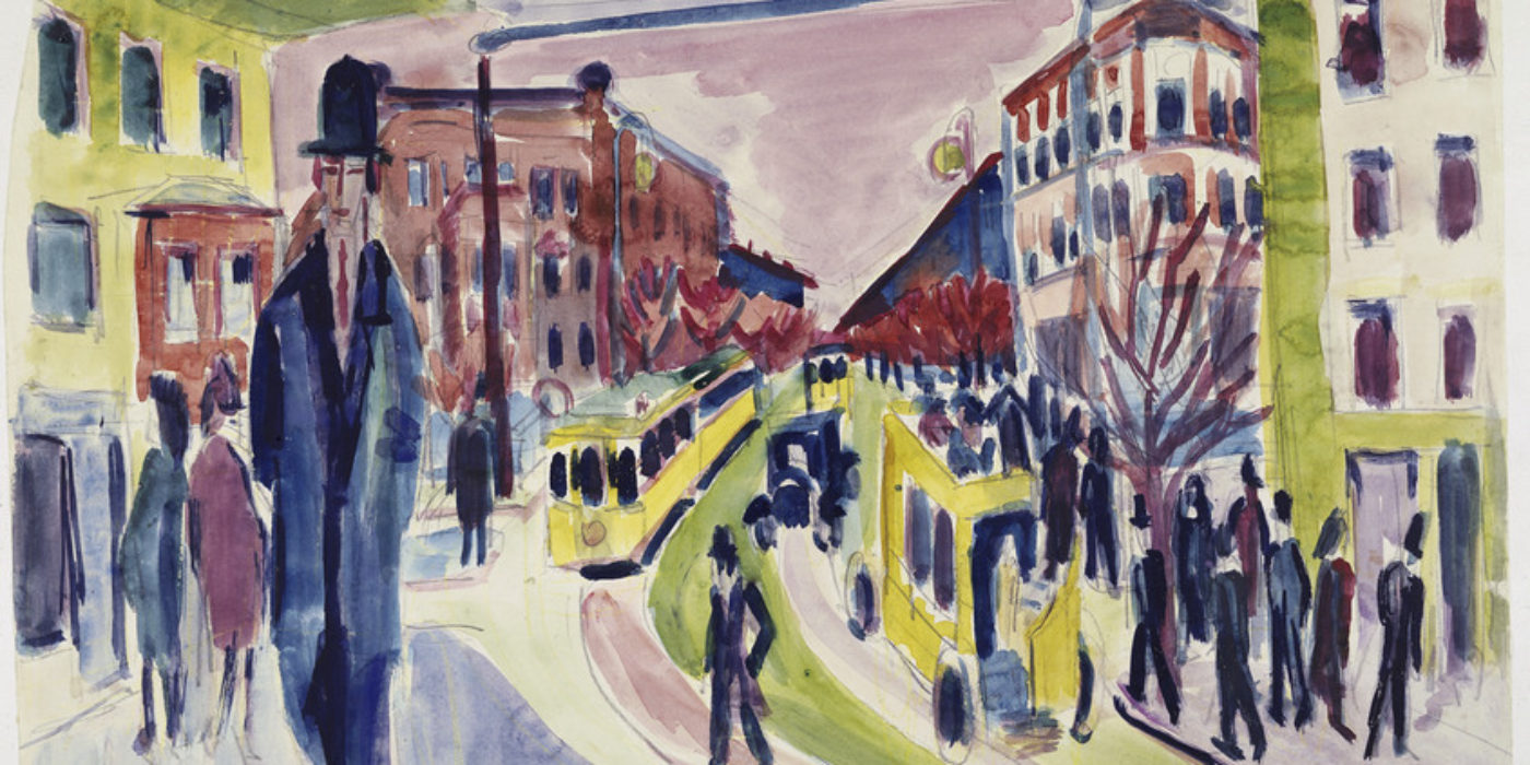 Ernst Ludwig Kirchner, Straßenszene, 1926